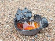 BLACK CAT - POTERY