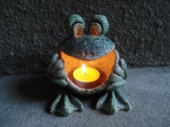 Dāvana - varde svečturis